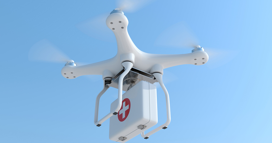 Drone Rangers: Thousands of lives will be saved by drones in the
